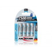 Ansmann Acumulator R6 maxE de 2500 mAh ambalati cate 4