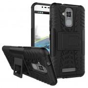 Asus Zenfone 3 Max ZC520TL Anti-Slip Hybrid Case - Black