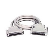 C2G 2m DB37 M/F Cable DB37 M DB37 FM White cable interface/gender adapter