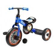 """UNTOLD Mini Cooper Blue 10"""" Kids Push Tricycle Ride-On Bike Tricycle (Blue)"""