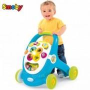 Бебешка проходилка и активна дъска 2в1 Smoby Cotoon, 043330