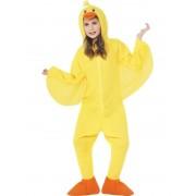 Eenden kostuum - Geel en oranje