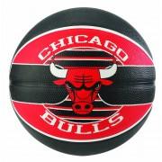 Bola Chicago Bulls Basquete Spalding NBA (Compre e Ganhe 1 Boné Spalding) - Tam. 7