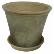 Ghiveci din ceramica pentru flori cu suport, 6125, MN019710, Feronya