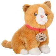 Hamleys 7-inch Sitting Cat W.Bean,Multi Color( Design May Vary)