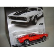 HOT WHEELS MUSTANG 50 YEARS EXCLUSIVE RED 1971 FORD MUSTANG MACH 1 DIE-CAST