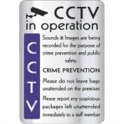 Nisbets CCTV In Operation Crime Prevention Sign