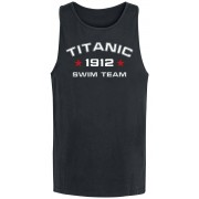 Titanic Swim Team Herren-Tank-Top M, L, XL, XXL, 3XL Herren