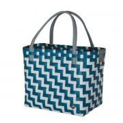 Handed By Shopper Waves ocean blue white