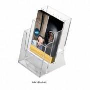 Suport pliante multiplu pentru birou 3 x A4