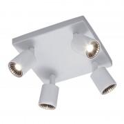 Trio Leuchten Modern Square Ceiling Spotlight 4 White Incl. LED - Cayman