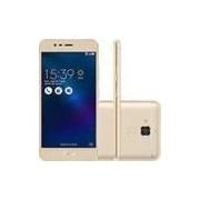 Smartphone Asus Zenfone 3 Max Dual Chip Android 6 Tela 5.2 16GB 4G Câmera 13MP - Dourado