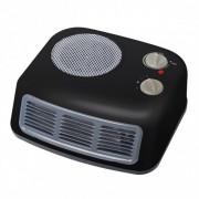 Вентилаторна печка с метален корпус ZEPHYR ZP 1970 T, 2000W, 3 степени, Отопление/Охлаждане, Черен