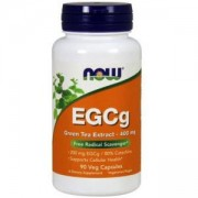 Епигалокатехин Галат - EGCG Green Tea Extract 400 мг. - 90 капсули - NOW FOODS, NF4704