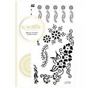 Tatuaj Temporar LUXORISE Henna Temptation Flower Girls J235