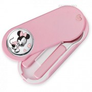 set pappa con inserto in argento minie mouse