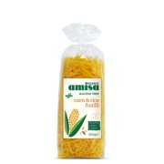 Fusilli din orez si porumb fara gluten eco 500g AMISA