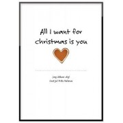 Canon Poster - All I want for christmas is you (50x70 cm)