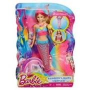 Papusa Barbie Rainbow Light Mermaid