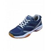 FOOTFIX Unisex Spectrum Navy (Non Marking) Badminton Shoes Shoe(Size 6 Uk/ Ind)