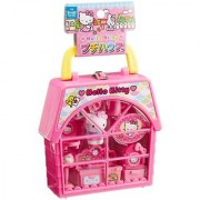 Hello Kitty Petite House - Compact Set with Complete Setup for Tea Parties by Muraoka