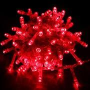 Instalatii Luminoase Craciun Snur 9m 100LED Rosu FI NP 6022