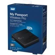 Vanjski Tvrdi Disk WD My Passport Wireless Pro 3TB, WDBSMT0030BBK