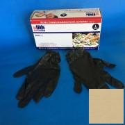 Ulith kesztyű nitril fekete, púdermentes, L-es, 200 db/doboz