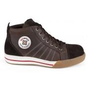 Redbrick SMARAGD Veiligheidssneakers hoog model S3 - Bruin - Size: 41
