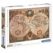 Puzzle 1000 Piezas Mapa Antiguo - Clementoni