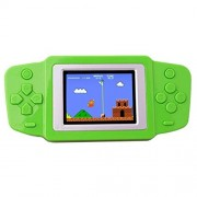 Zhishan Kids Retro Handheld Game Console Portable Player Built in 269 Classic Old Style Video Games with 2.5 LCD Screen Boy Arcade Gaming System Unique for Children (Green)