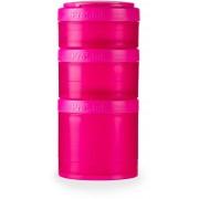 Blender Bottle BlenderBottle® ProStak™ Pack de 3 - Full Color - Rosa
