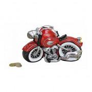 Merkloos Rode motor spaarpot 21 cm