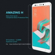 NILLKIN Amazing H előlap védő karcálló edzett üveg, 0.33mm, 9H, kamera lencsevédő fóliával - Asus Zenfone 5 Lite (ZC600KL) (2018) - GYÁRI