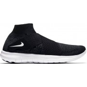Nike Free Run Motion Flyknit W - scarpe running neutre - donna - Black