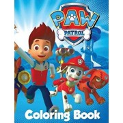 Paw Patrol Coloring Book: In the 60 Page A4 Size Coloring Book for Children We Have Put Together a Fantastic Collection of Characters from Paw P, Paperback/L. P. F. Books