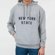New Era New York State Hoodie Light Grey
