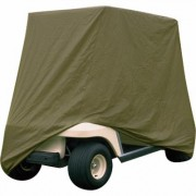 Classic Accessories Fairway Golf Cart Storage Cover - Olive (Green), 93 Inch L x 41.5 Inch W x 61 Inch H (60 Inch L Roof), Model 72003-SC
