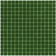 Mozaiektegel Amsterdam Dark Green Soft Grain Glass 322x322