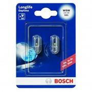 Lampadine per Auto Bosch W5W Longlife 2 pezzi 1202