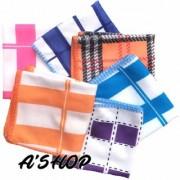 QUALITY - LOVE Proudly presents Thick Soft Face Towels / Handkerchiefs Designer Girls Hankies ( 6 Pcs Set ) MULTICOLOR