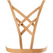 Bijoux Indiscrets Body harness Bijoux Indiscrets Maze Cross Cleavage Harness Marrone