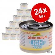 Икономична опаковка Almo Nature Light 24 x 50 г - риба тон Skipjack