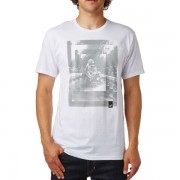 FOX muška majica Back Ss Tee S bijela