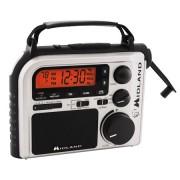 Radio de emergencia Midland ER-102 con manivela y canales meteorologicos