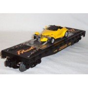 Lionel Trains 6-17522 Flat Car w/ Plymouth Prowler Transport Train Chrysler Plym