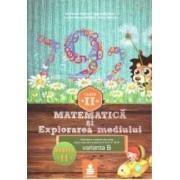 Matematica si explorarea mediului - Clasa 2 - Partea A II-A - Varianta B - Ed.2015 - Dumitru D. Paraiala