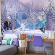 Fototapet Frozen - Elsa si Olaf
