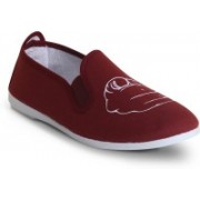 Scentra HEY YOU Loafers For Women(Burgundy)