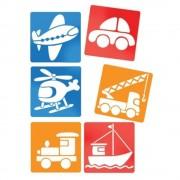 Stencils veicoli 145 x 145 mm 6 pz